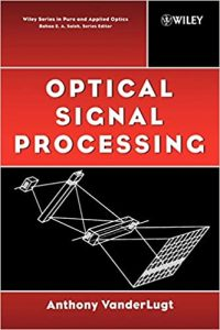 Optical Signal Processing by Vanderlugt