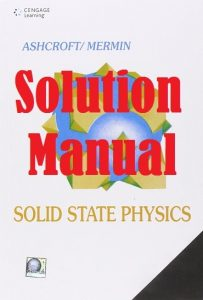 Solution Manual Solid State Physics Ashcroft & Mermin