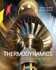 Thermodynamics 8th edition Yunus Cengel Michael Boles