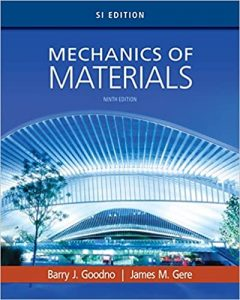 Download Mechanics of Materials SI Edition 9th Edition by Goodno and Gere