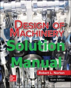 Download Solution Manual Design of Machinery 6th edition by Norton