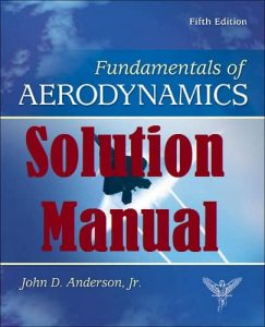 Solution Manual for Fundamentals of Aerodynamics 5th edition John Anderson