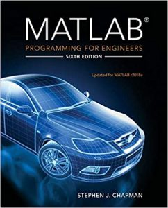 Download MATLAB Programming for Engineers 6th edition Stephen Chapman