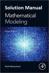 Solution Manual Mathematical Modeling 4th edition Mark Meerschaert