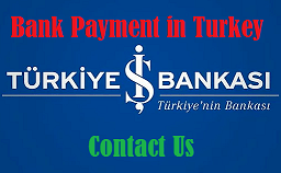 Pay using İş bankasi on www.book4me.xyz