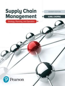 Download Supply Chain Management 7th edition by Sunil Chopra and Peter Meindl