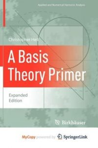 A Basis Theory Primer Christopher Heil