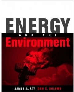 Energy and the Environment James Fay