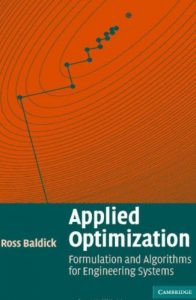 Applied Optimization - Ross Baldick
