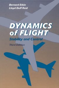 Dynamics of Flight 3rd edition Bernard Etkin, Lloyd Duff Reid