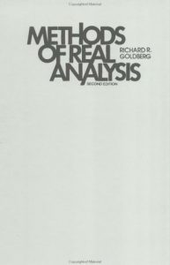 Methods of Real Analysis Goldberg