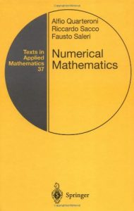 Numerical Mathematics Quarteroni