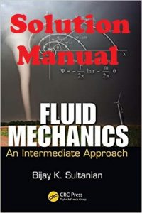 Solution Manual Fluid Mechanics Bijay Sultanian