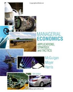 Managerial Economics 13th edition by McGuigan & Moyer