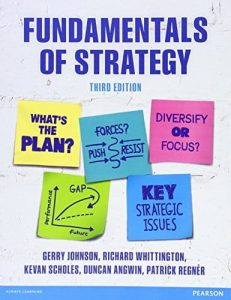 Fundamentals of Strategy 3rd edition Gerry Johnson Richard Whittington