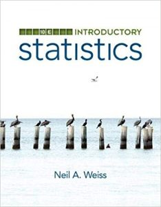 Download Introductory Statistics 10th edition Neil Weiss